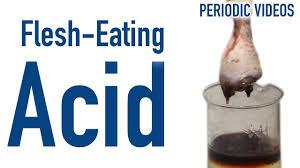 Flesh Eating Hydrofluoric Acid Periodic Table Of Videos Youtube