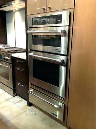 wall oven with warming drawer shocking jenn air double parts microwave decorating ideas 2