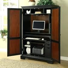 corner armoire desk modern computer