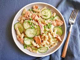 Lemon-Dill Salmon Pasta Salad Recipe ...