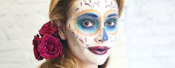 sugar skull makeup an easy tutorial for day of the dead