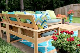 free diy outdoor sofa plans cute free plans for outdoor furniture to make