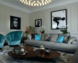 Brown And Turquoise Living Room Stunning Turquoise House Decor Lorikennedyco