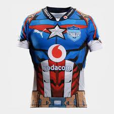 puma bulls 2019 kids marvel super rugby s s shirt
