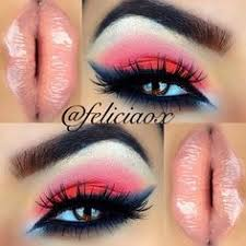 this could totally work for 4th of july perfect makeup gorgeous makeup love