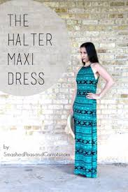diy dresses to sew for summer halter maxi dress best free patterns for dress