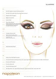 Glampire Face Chart Makeup In 2019 Makeup Face Charts