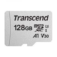Thẻ nhớ Micro SD 128GB Transcend TS128GUSD300S-A - Thẻ nhớ máy ảnh