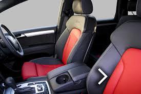 audi q7 leather seats automotive