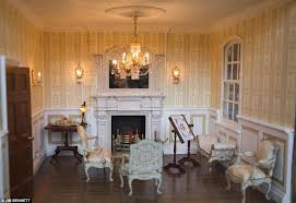 Lighting In Houses Detailed The Drawing Room Contains Real Electric Lights And A Fire Powered By Mini Lighting In Houses G