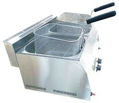 counter top fryer steel gas commercial deep fryer e rtified with 3 years warranty tb fr