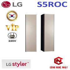 Máy giặt sấy khô hấp LG Styler S5ROC phiên bản 2021 VIP nội địa Hàn Quốc