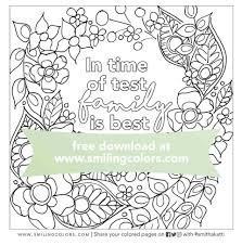 The most common quote coloring pages material is wood. Family Quote Coloring Page Print It And Enjoy Coloring Smitha Katti