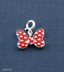 minnie mouse iconic bow charm by fourseven