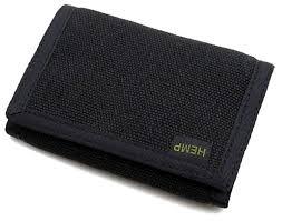 hempmania s hemp trifold vegan wallet for men