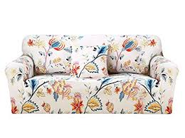 hotniu 1 piece stretch sofa couch covers spandex prinseat couch slipcover arm