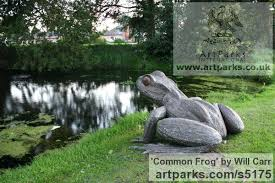 large garden frog statue steel garden or yard outside and outdoor sculpture by sculptor will titled