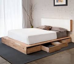 Pallet bed storage 2 - for clothes