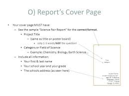 Project Title Page Design Template Report Cover Skincense Co