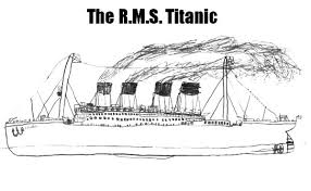Small Picture How to Draw Titanic Coloring Pages Batch Coloring