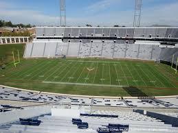 Scott Stadium View From Upper Level 532 Vivid Seats
