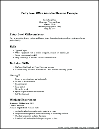 Clerical Resume Templates Inspiration Accounting Clerk Resume Samples Simple Template Resume Format