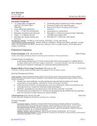 Resume Product Management Resume