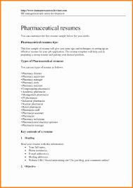 14 Beautiful Pharmacist Resume Sample Resume Sample Template And