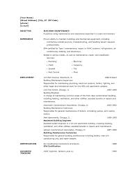Cover Letter Maintenance Supervisor Resume Sample Aircraft