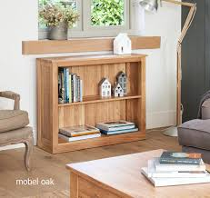 mobel oak console table. Mobel Oak Low Bookcase Console Table E