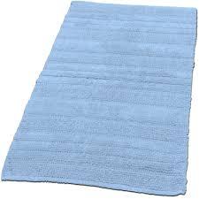 Badezimmerteppich Aus Baumwolle Einfarbig Teppichcenter24