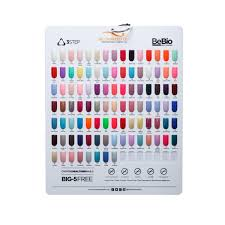 Wave Gel Matching Color Chart Bio Seaweed Gel Colour Boards