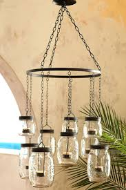 crystal chandelier bead chains chandelier without chain we usually associate chandeliers with extravagance or once but pier 1s mason jar hanging