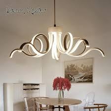 2018 simple living room personalized art chandelier led lights nordic modern restaurant lights from grege 242 6 dhgate com