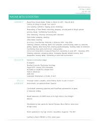 How To List Unfinished College On Resume Resume Examples General