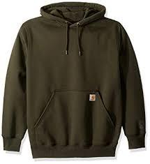 Carhartt Color Chart Carhartt Mens Rain Defender Paxton Heavyweight Hooded Sweatshirt