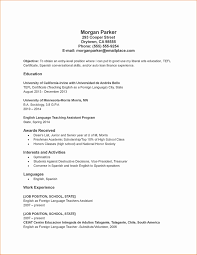 30 Inspirational Resume For High School Student With No Experience