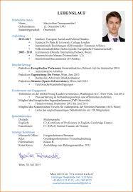 9 Perfekter Lebenslauf Resignation Format