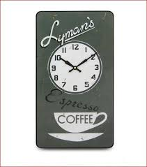 lymans coffee wall clock orchard berry