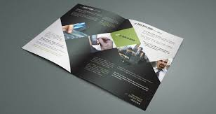 Corporate Bi Fold Brochure Template Brochure Templates