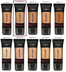 l oreal infallible pro matte liquid foundation fresh beige by l oreal