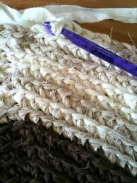 round rag rug crochet tutorial