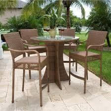 gorgeous high top patio table set furniture ideas patio furniture high top table and chairs home design inspiration