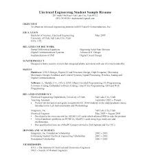 Electrical Engineering Resume Samples Electrical Engineer Resume Sample Pdf Electronics Engineering