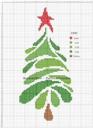 Christmas Tree Cross Stitch Chart Christmas Tree Cross Stitch Xmas Cross Stitch Cross