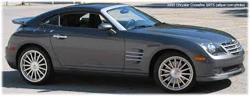 chrysler crossfire srt6. chrysler crossfire and srt6 the mercedes sl retuned restyled srt6