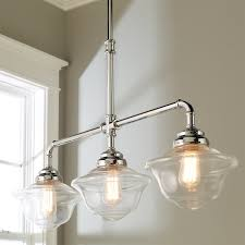 Timeless Schoolhouse Island Chandelier Shades of Light