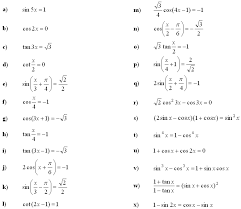 hard trig equations worksheet you
