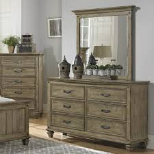 Driftwood Bedroom Furniture Homelegance Sylvania 5 Piece Panel Bedroom Set In Oak Veneered