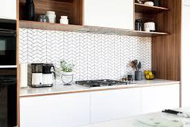 Vertical Tile Backsplash Fascinating Love A White Backsplash But Not Subway Tile Try One Of These